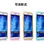 Case Samsung J7 ซิลิโคน TPU soft case แบบฝาพับโปร่งใสสีต่างๆ สวยงามมากๆ ราคาถูก