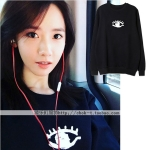 เสื้อแขนยาวกันหนาว (Sweater) ลายลูกตา แบบ Yoona