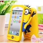 case iphone 4/4s เคสไอโฟน4/4s เคสซิลิโคน 3D despicable me