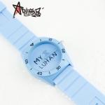 นาฬิกา EXO LUHAN (กันน้ำ) สีฟ้า