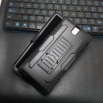 เคส Sony Xperia C5 Ultra กันกระแทก แนวลุยๆ ดุๆ เท่ๆ ถึกๆ อึดๆ แนวทหาร เดินป่า ผจญภัย adventure เคสแยกประกอบ 3 ชิ้น ชั้นในเป็นยางซิลิโคนกันกระแทก ครอบด้วยแผ่นพลาสติกอีก1 ชั้น กาง-หุบขาตั้งได้ มีปลอกฝาหน้าแบบสวมสไลด์ ใช้หนีบเข็มขัดเพื่อพกพาได้