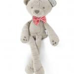 ตุ๊กตาหมีขายาว โบว์สีแดง แพ็ค 5 ตัว ขนาด 42 cm