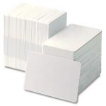 บัตรพลาสติกเปล่าสีขาว บัตรสมาชิกสโมสร บัตรพนักงาน