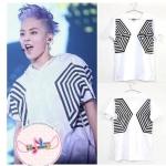เสื้อแขนสั้น EXO The Lost Planet in Seoul Concert สีขาว (สกรีนแขน)