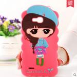 Case Huawei 3X ซิลิโคน 3D สามมิติเด็กผู้หญิงน่ารักสดใสน่ารักมากๆ ราคาส่ง ราคาถูก ราคาปลีก