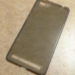 เคสนิ่มใส (หนา 0.3 mm) Vivo X5 Max สีเทา