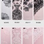 เคส OPPO R9s Plus ซิลิโคน soft case สกรีนลายดอกไม้ พร้อมสายคล้องมือ สวยงามคุ้มค่ามาก ราคาถูก