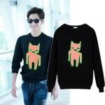 เสื้อแขนยาว (Sweater) ลายการ์ตูน แบบ Yang Yang
