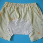 MPG004 กางเกงก้นบาน-ขาสั้นสำหรับสาวน้อย Size 1-3 ขวบ