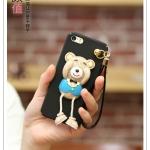 เคส iPhone SE / 5s / 5 พลาสติกหมีน้อย 3 มิติ น่ารักสุดๆ ไม่ซ้ำใคร ราคาถูก