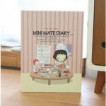 Mini Mate Diary Ver.4 (Pink)