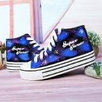 รองเท้าผ้าใบเรืองแสง SJ