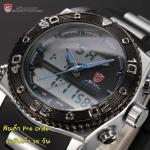 นาฬิกาข้อมือชายแฟชั่น Shank Sport watch SH174