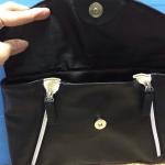 กระเป๋าหนัง กระเป๋าถือ เอนกประสงค์ (สีดำ) ของใหม่