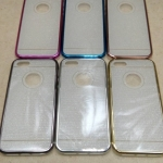 Case iPhone 5 รุ่น เคสนิ่ม TPU ลายกากเพชร