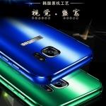 เคส Samsung S7 ขอบเคสโลหะ Bumper + พร้อมแผ่นฝาหลังเงางามสวยจับตา ราคาถูก