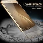 เคส Huawei P9 ขอบเคสโลหะ Bumper + พร้อมแผ่นฝาหลังเงางามสวยจับตา ราคาถูก