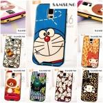 เคสซัมซุง S5 Case Samsung Galaxy S5 เคสซิลิโคน TPU ลาย โดเรมอน Rilakkuma Paul Frank My Melody Hello Kitty หุ้มขอบพลาสติกเคลือบเงาโลหะสวยๆ -B-