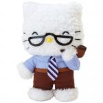 ตุ๊กตาจอร์จเฮลโหลคิตตี้ Hello Kitty's daddy family stuffed (George)