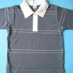 PKM292 เสื้อโปโลหนุ่มน้อยสีสันสดใส =ผ้าจูติ/ลาคอส= Size M