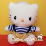 ตุ๊กตาแดเนียล เฮลโหลคิตตี้ชุดเอี๊ยมกางเกงสีทอง PLUSH STUFFED DARE DANEAL HELLO KITTY