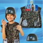 ชุดทหาร+อุปกรณ์ตามรูป แพ็ค 3 ชุด ไซส์ 45*37 cm (เหมาะสำหรับ 3-8 ขวบ)