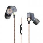 ขาย หูฟัง KZ ATE หูฟัง [มีไมค์ดำ] อินเอียร์ In-ear รุ่นใหม่ Super Bass ตัดเสียงรบกวนได้ดี