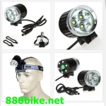 ไฟฉาย ไฟหน้า x CREE XM-L T6 4000 Lumens bicycle torch/light