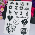 TATTOO EXO XOXO