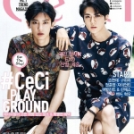 CECI 2015.08 (Cover : EXO Chanyeol, Sehun)