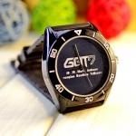 นาฬิกา GOT7 (กันน้ำ) สีดำ