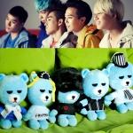 ตุ๊กตาหมีห้อยกระจก BIGBANG
