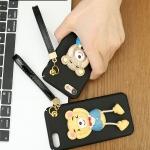 เคส iPhone 7 (4.7 นิ้ว) พลาสติกหมีน้อย 3 มิติ น่ารักสุดๆ ไม่ซ้ำใคร ราคาถูก