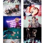 สติกเกอร์ BTS WINGS 2017