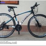 จักรยานไฮบริด TIGER METRO เฟรมอลู ซ่อนสาย 24 สปีด 2016