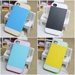 เคส iphone 4s / 4 NX Case เคส 2 ชั้น ด้านในเป็นซิลิโคน ด้านนอกหุ้มกรอบพลาสติก สลับสีสวยๆ แนวๆ ราคาส่ง ขายถูกสุดๆ