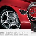 นาฬิกาข้อมือชายแฟชั่น Shank Sport watch SH082