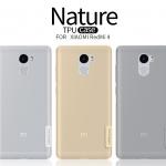 Nillkin Nature TPU Case ใสแบบนิ่ม FOR Redmi 4**สีขาวใส**