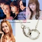 สร้อยคอแหวนคู่ แบบ Jessica+Taeyeon
