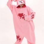 ชุดนอนแฟนซีหมีโหด+รองเท้าการ์ตูน สำเนา