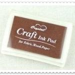 Crystal Craft Ink Pad (สีน้ำตาล)