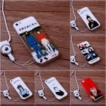 เคส iPhone 5/5s/SE ซิลิโคน soft case สกรีนลายการ์ตูนน่ารักๆ ราคาถูก (ไม่รวมสายคล้อง)