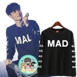 เสื้อแขนยาว (Sweater) MAD แบบ Lay