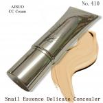 Ainuo No.410 snail essence delicate concealer CC cream