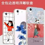 Case Huawei Y6II ซิลิโคน soft case แบบนิ่มสกรีนลายการ์ตูน กราฟฟิค น้องแมว ผลไม้ น่ารักมากๆ ราคาถูก (ไม่รวมสายคล้อง)