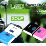 Golf LCD Power Bank 5200 mAh GF-LCD02