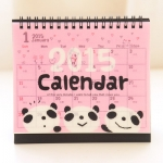 2015 Panda Desk Calendar
