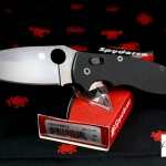 Spyderco Manix2 XL Black Plain Edge C95GPBBK2