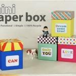 Mini Paper Box