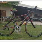 """จักรยานเสือหมอบ TOTEM LAMANDO """"B406"""" 16 สปีด ดุมแบร์ริ่ง Novatec,Shimano Claris 2016"""